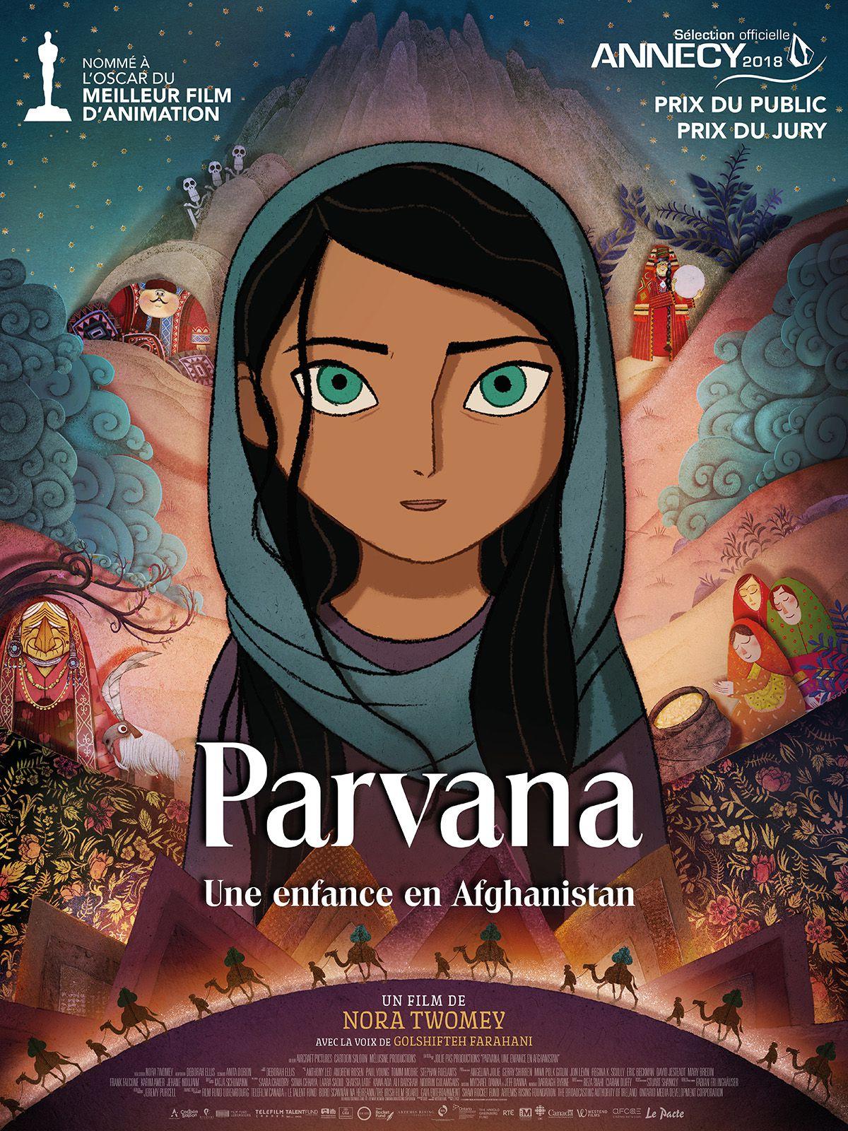 Parvana, une enfance en Afghanistan - Long-métrage d'animation (2018)