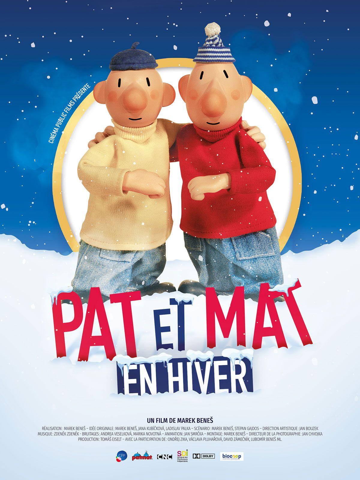 Pat et Mat en hiver - Film (2019)