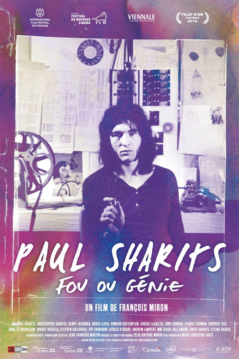 Paul Sharits - Documentaire (2017)