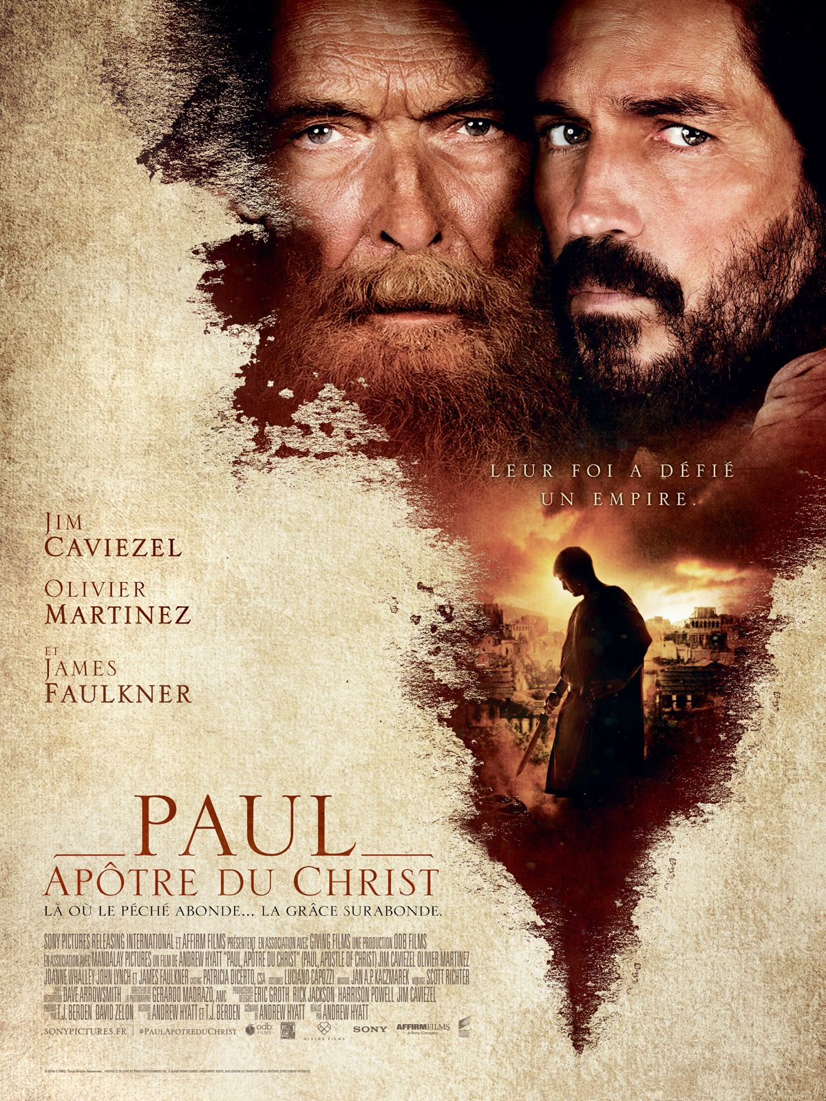 Paul, apôtre du Christ - Film (2018)
