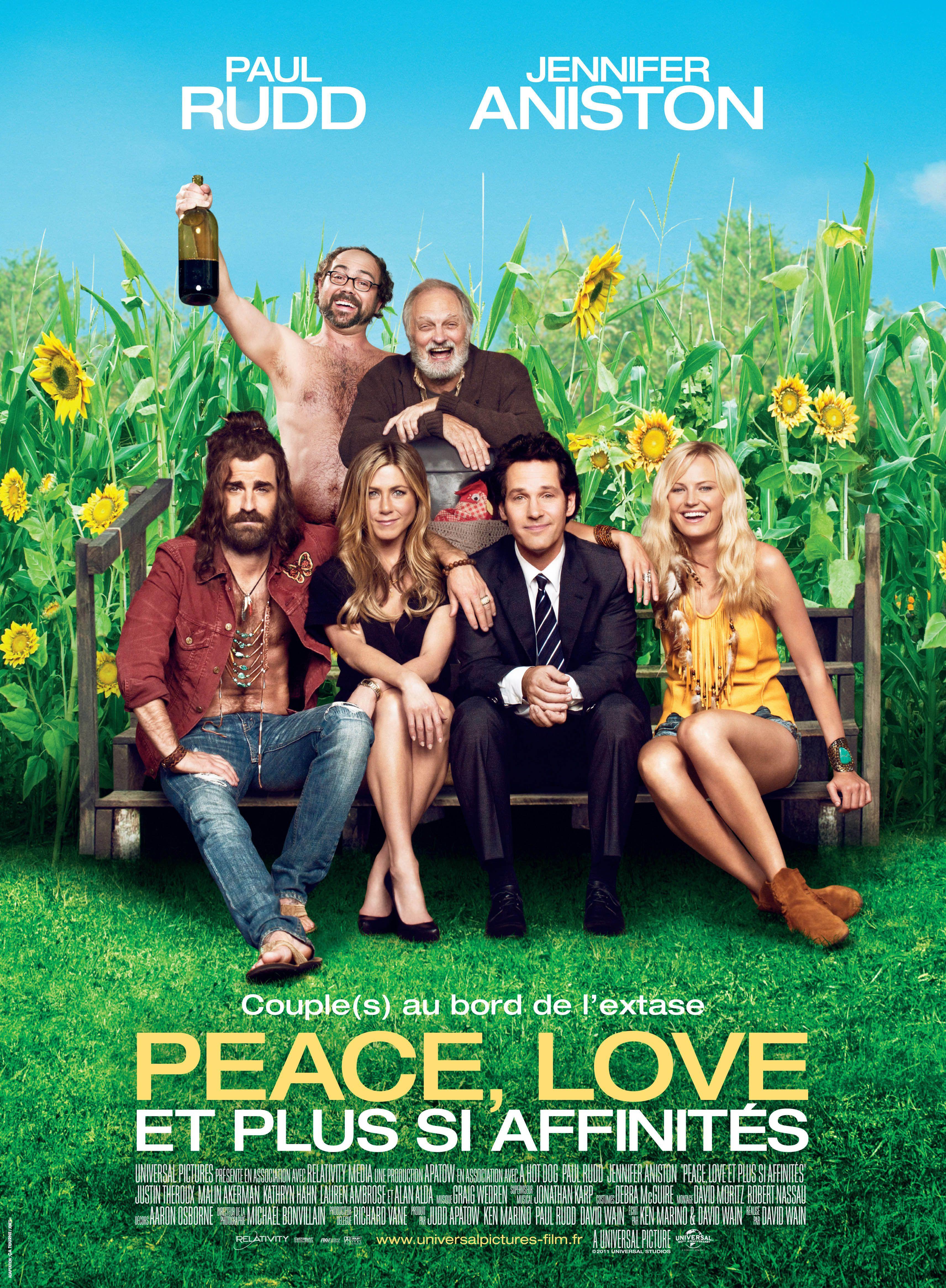 Peace, Love et plus si affinités - Film (2012)