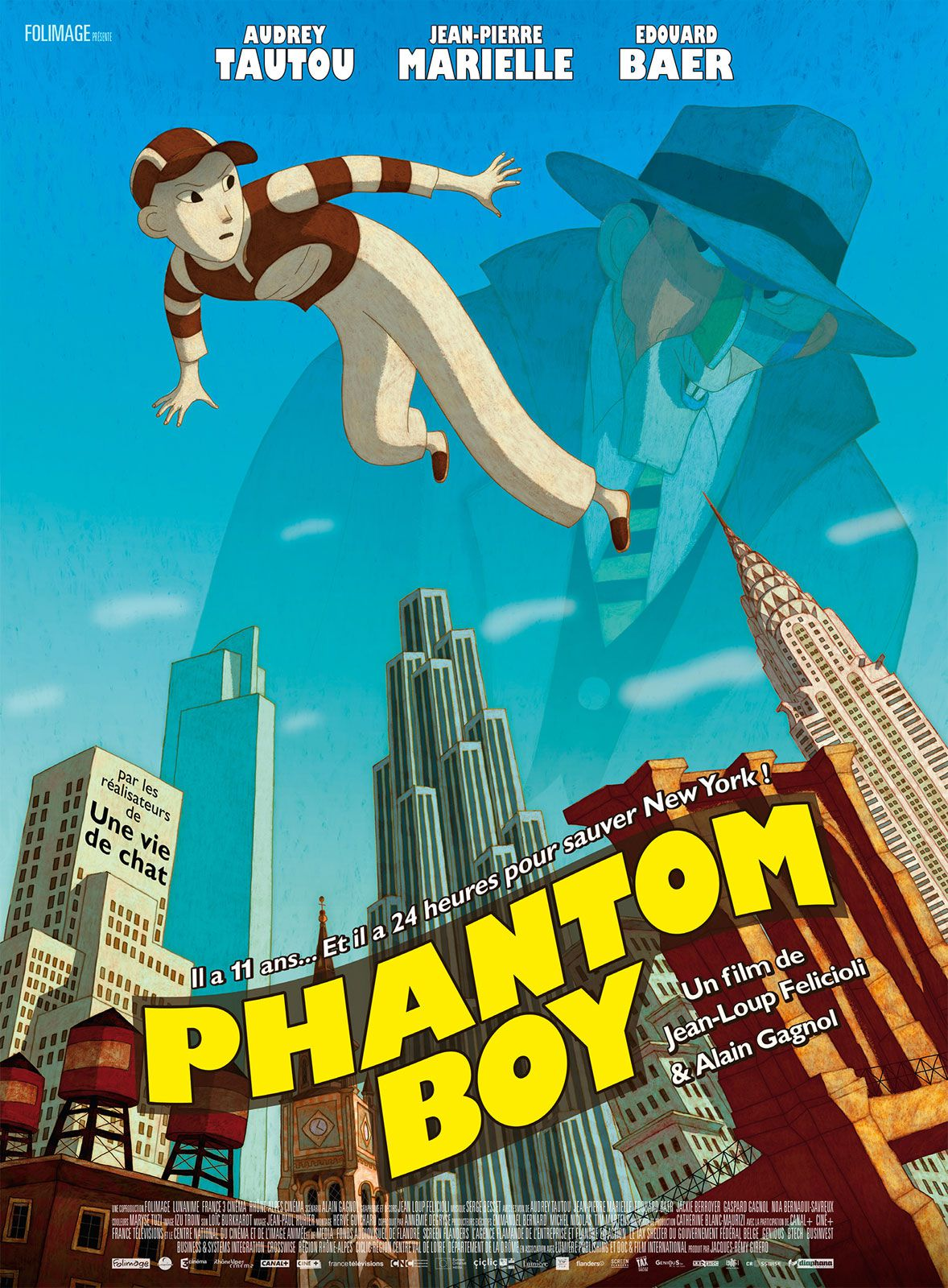 Phantom Boy - Long-métrage d'animation (2015)