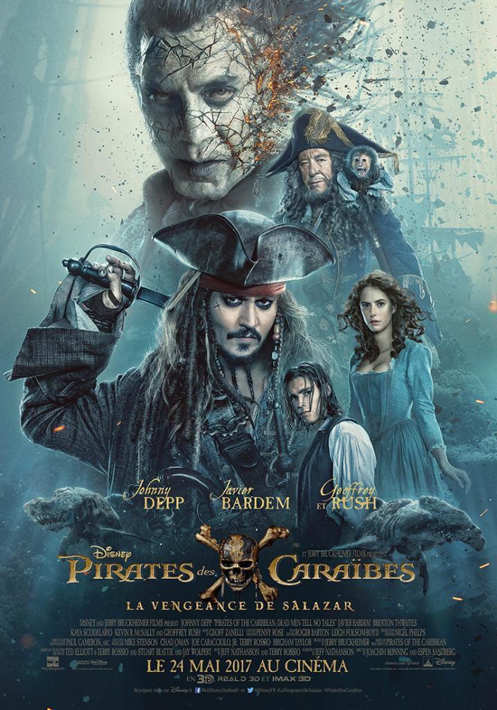 Pirates des Caraïbes : La Vengeance de Salazar - Film (2017)