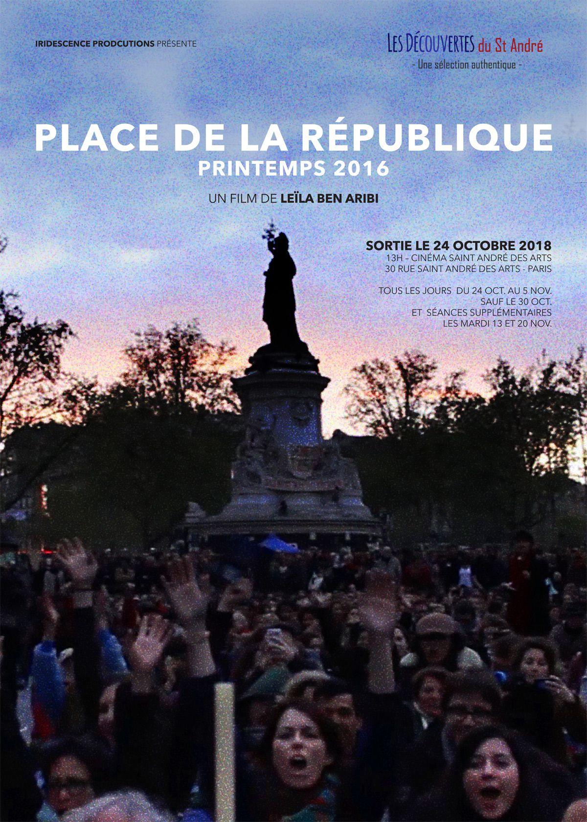 Place de la République, printemps 2016 - Documentaire (2018)
