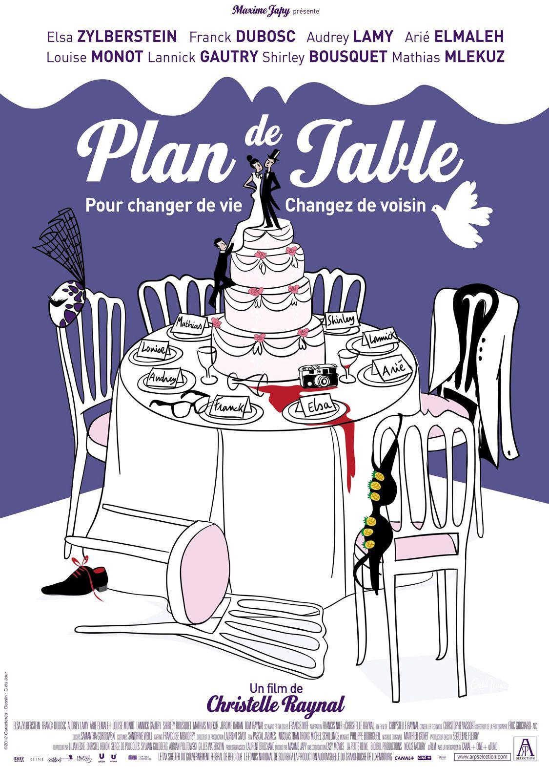 Plan de table - Film (2012)