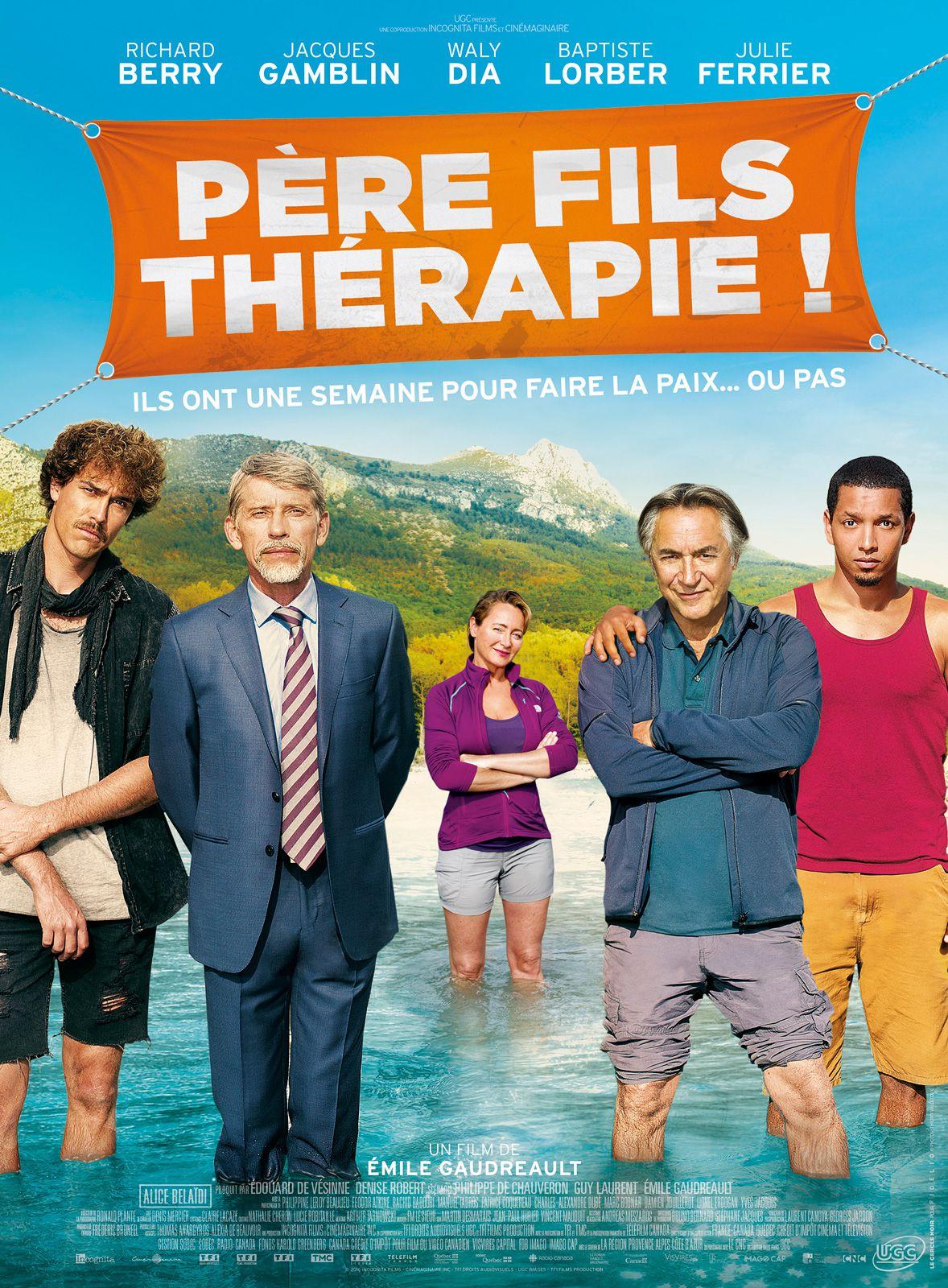 Père fils thérapie ! - Film (2016)