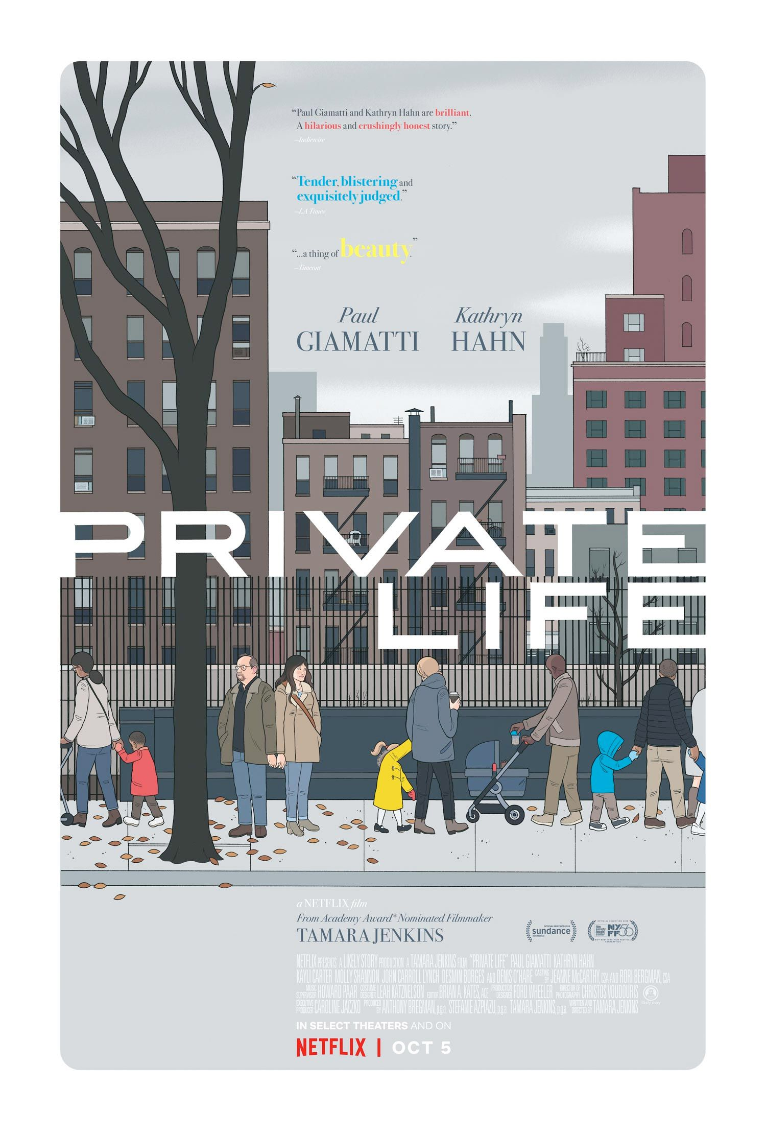 Private Life - Film (2018)