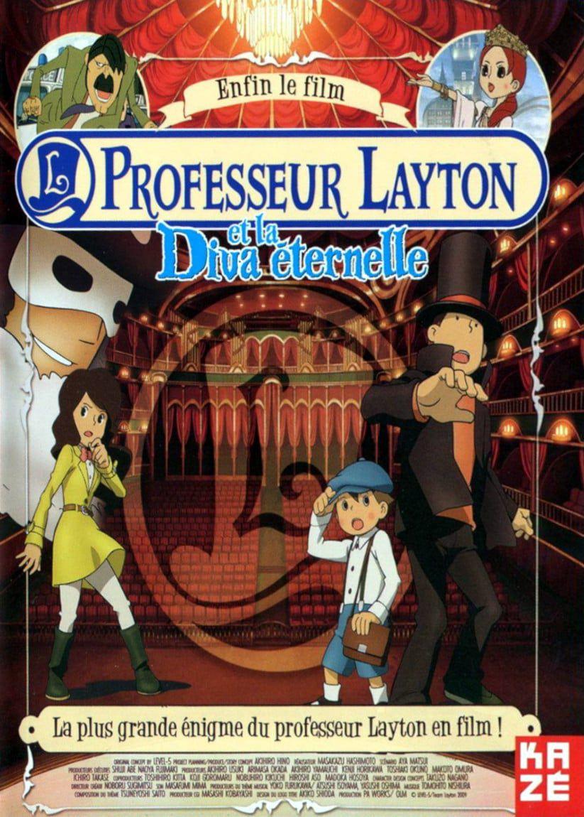 Professeur Layton et la Diva éternelle - Long-métrage d'animation (2009)