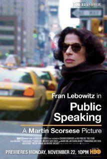Public Speaking - Documentaire (2010)