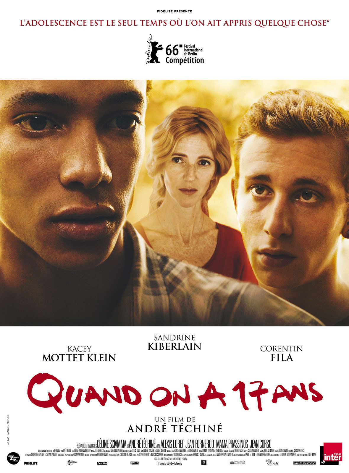 Quand on a 17 ans - Film (2016)
