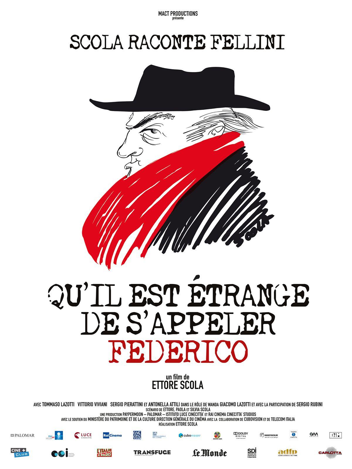 Qu'il est étrange de s'appeler Federico - Film (2014)