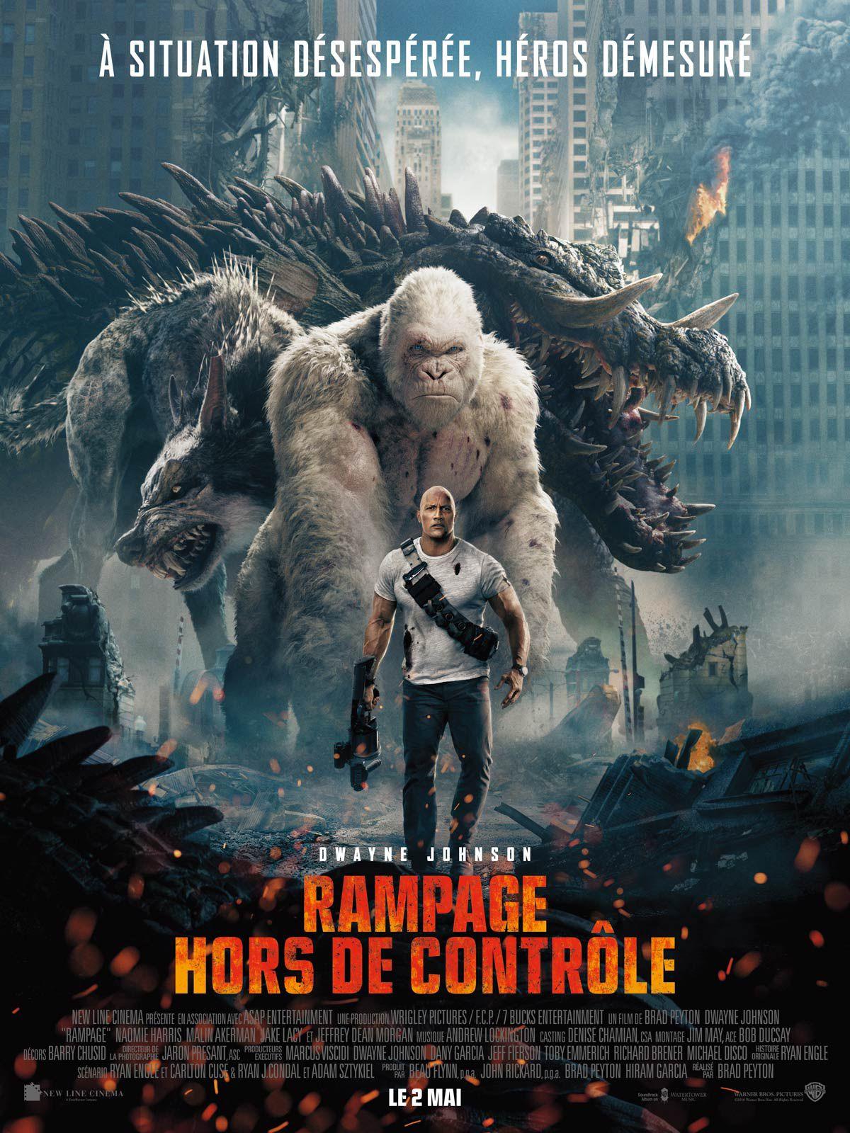 Rampage - Hors de contrôle - Film (2018)
