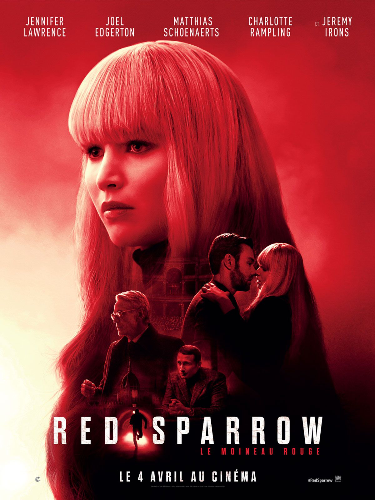 Red Sparrow - Film (2018)