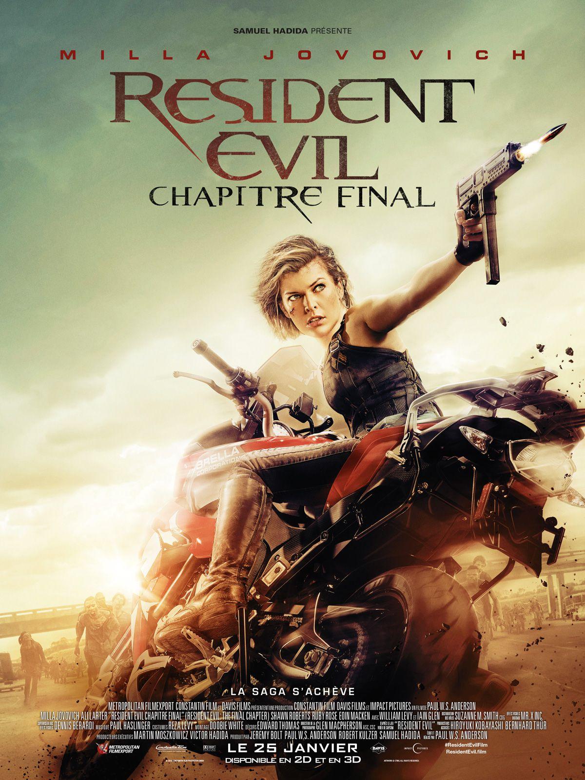 Resident Evil : Chapitre final - Film (2016)
