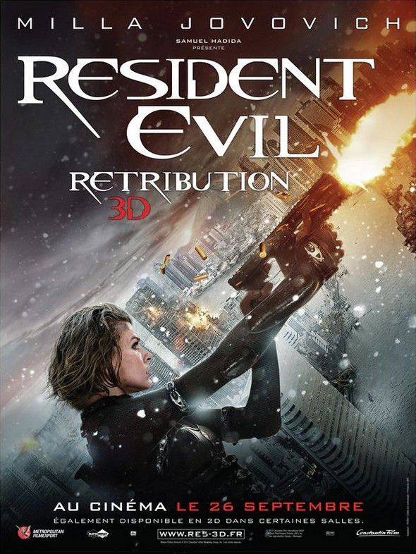 Resident Evil : Retribution - Film (2012)