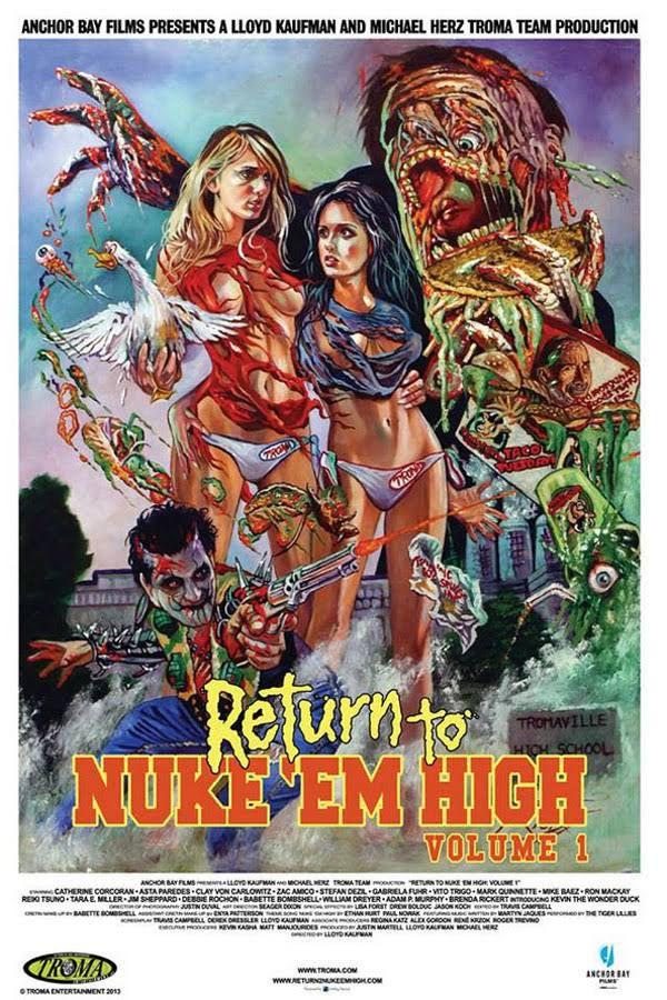 Return to Nuke 'Em High Volume 1 - Film (2013)