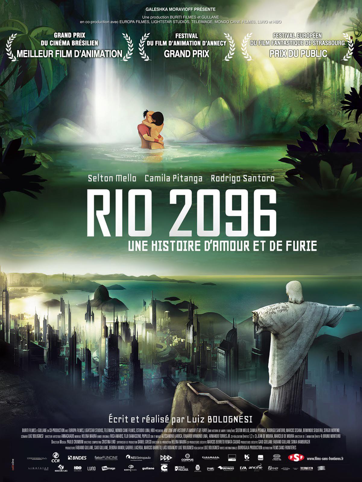 Rio 2096 : Une histoire d'amour et de furie - Long-métrage d'animation (2013)