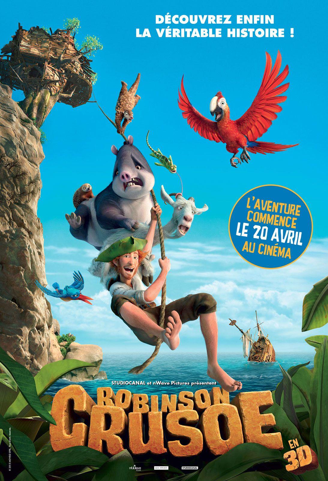 Robinson Crusoe - Long-métrage d'animation (2016)