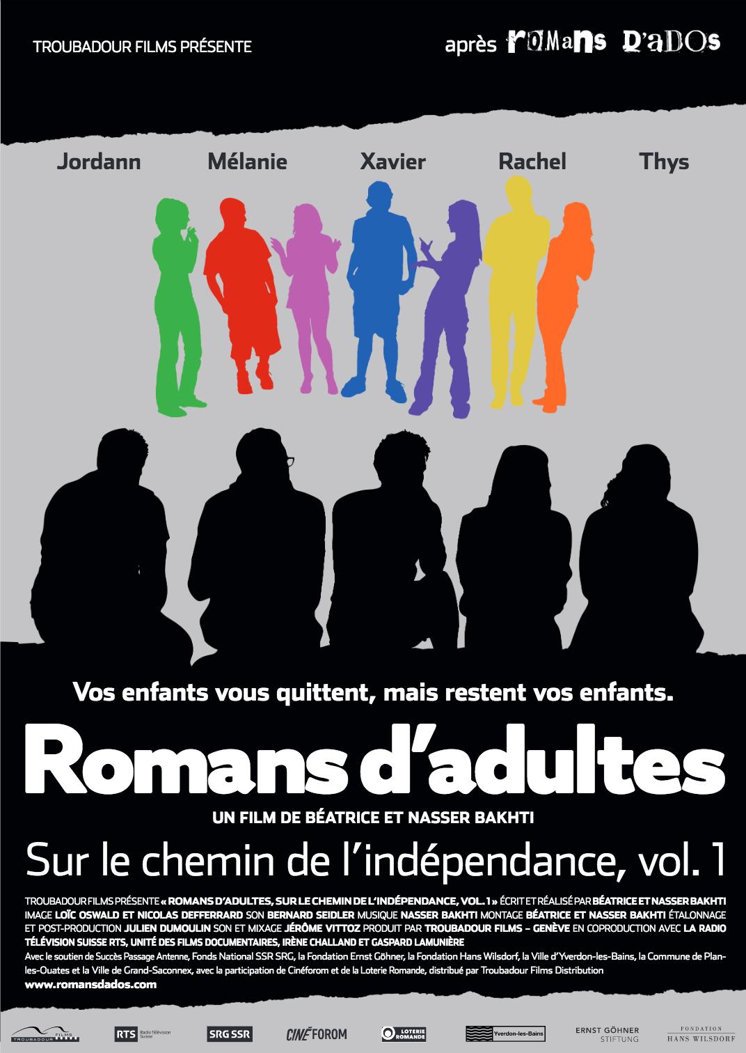 Romans d'Adultes - Documentaire (2018)
