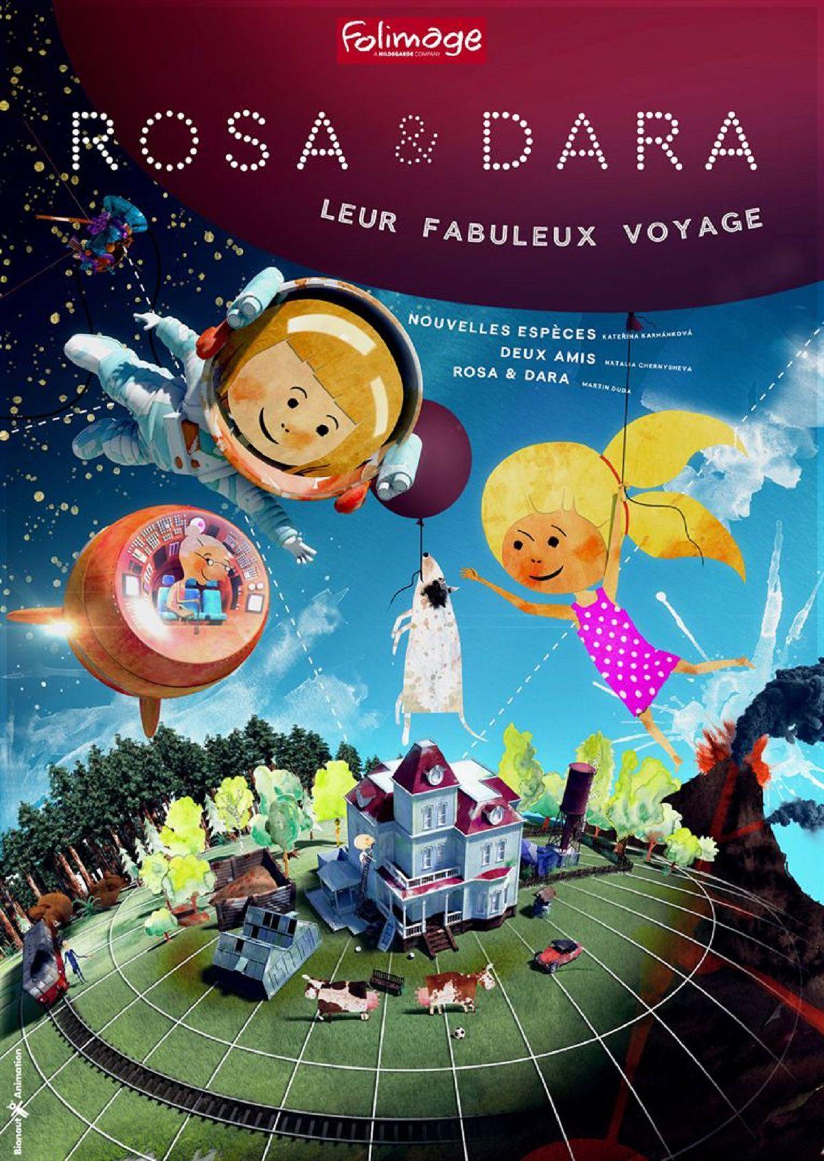 Rosa & Dara: leur fabuleux voyage - Film (2015)