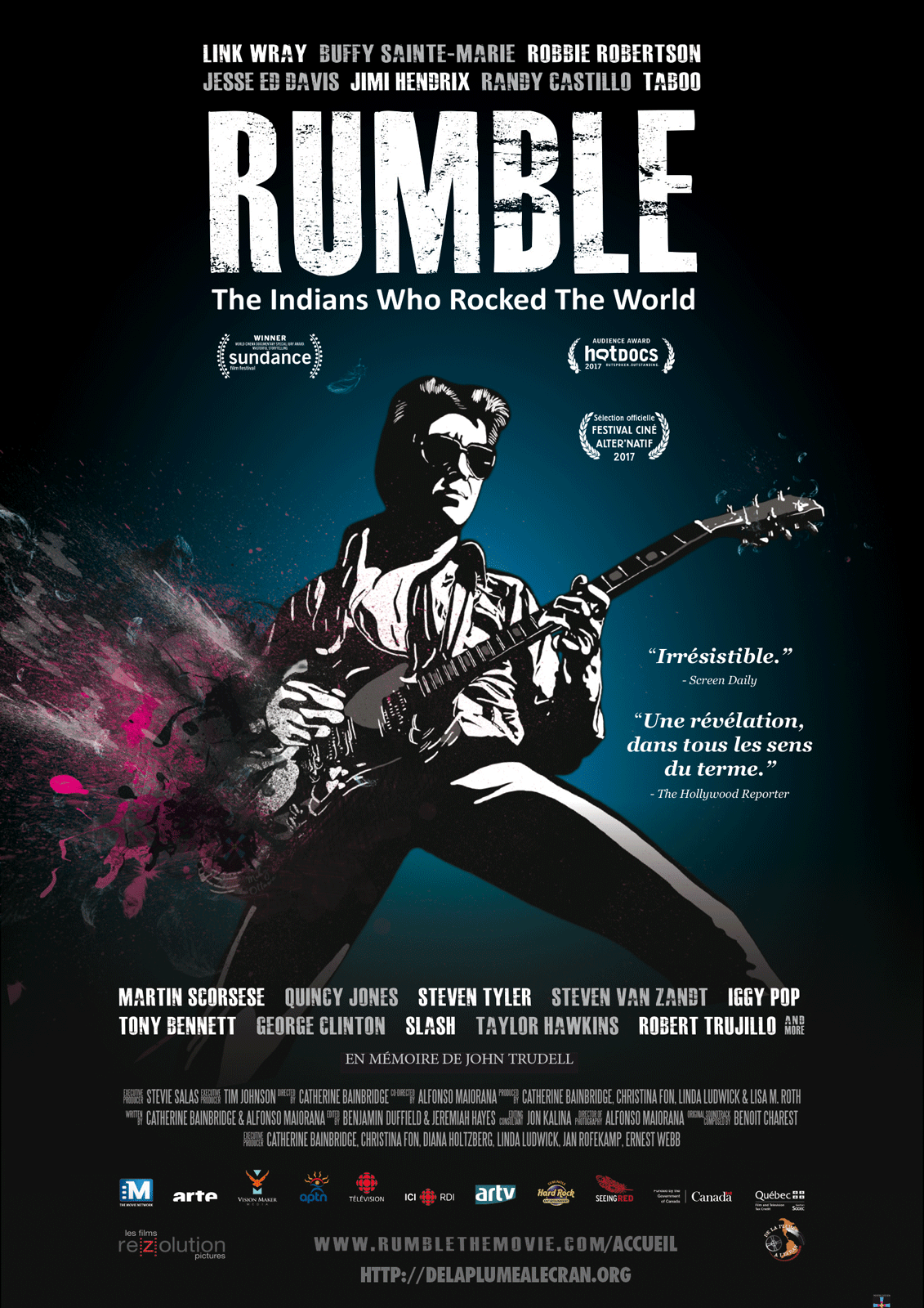 Rumble: The Indians Who Rocked The World - Documentaire (2018)