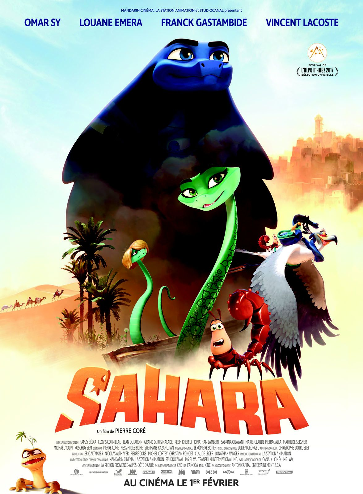 Sahara - Long-métrage d'animation (2017)