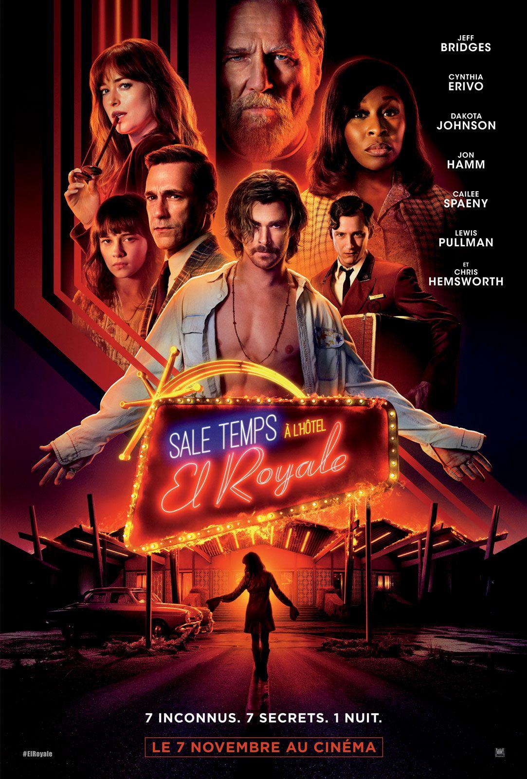 Sale temps à l'hôtel El Royale - Film (2018)