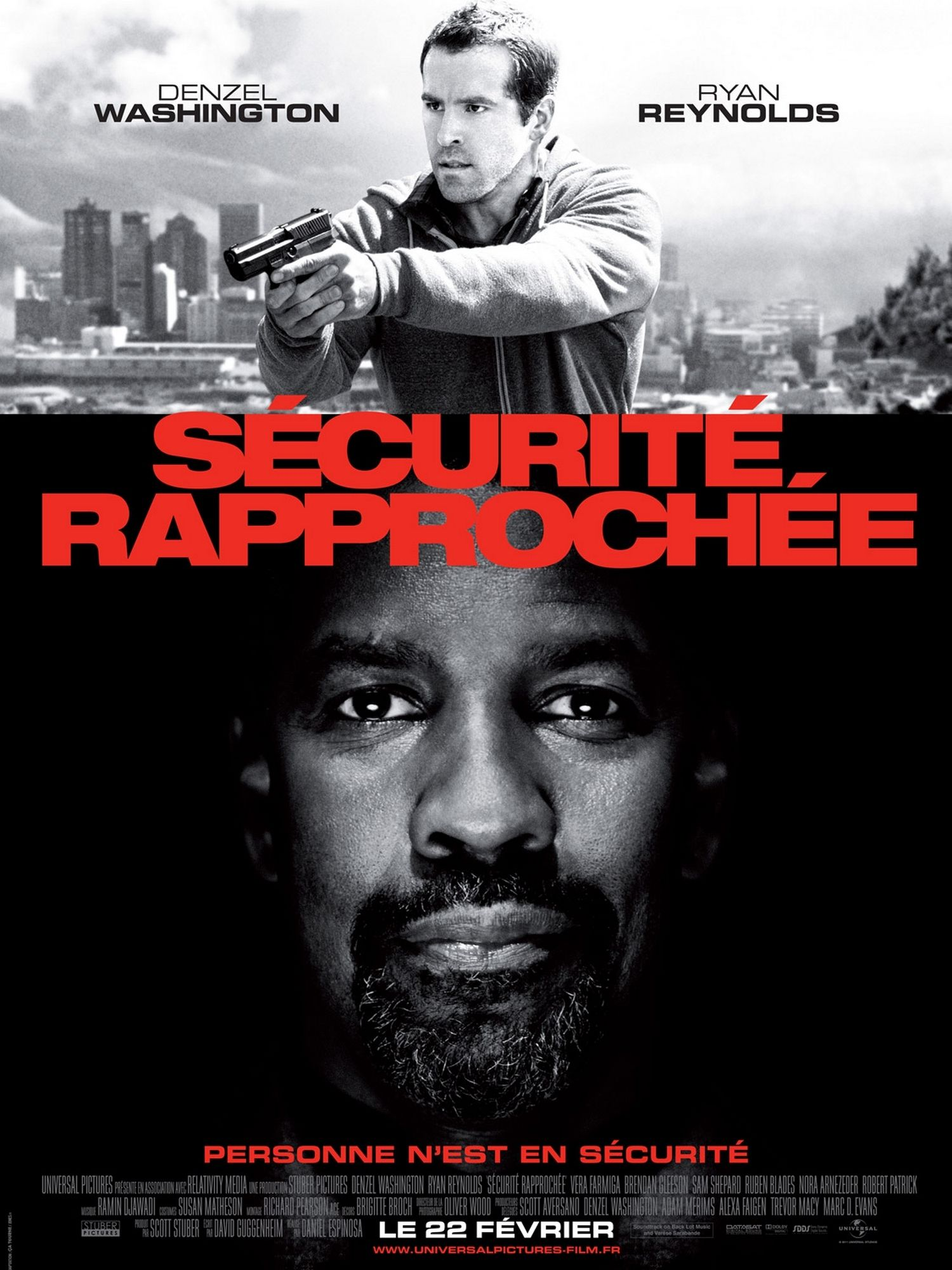 Sécurité rapprochée - Film (2012)