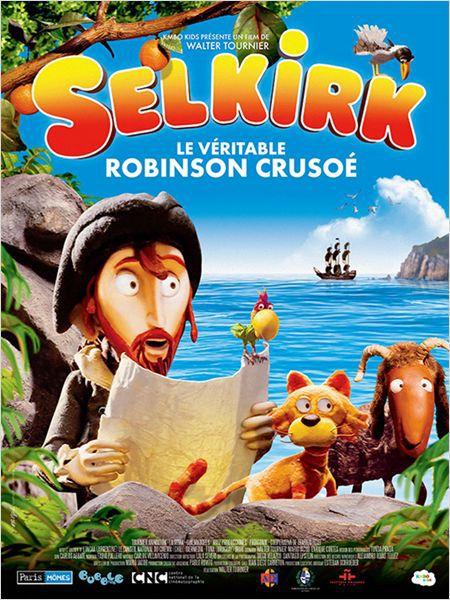 Selkirk, le véritable Robinson Crusoé - Film (2013)