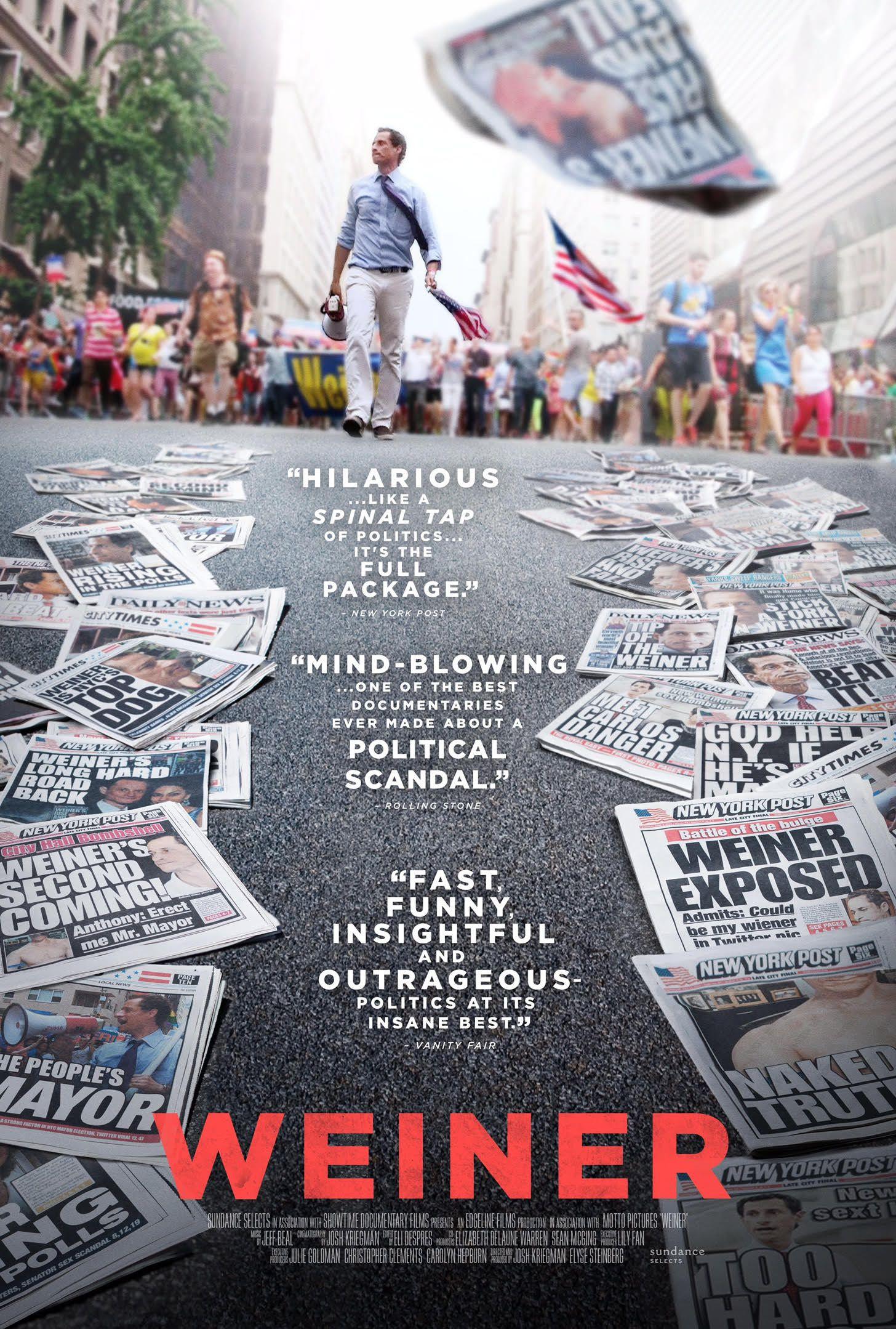 Sexe, Mensonges et Élections : L'Affaire Anthony Weiner - Documentaire (2016)