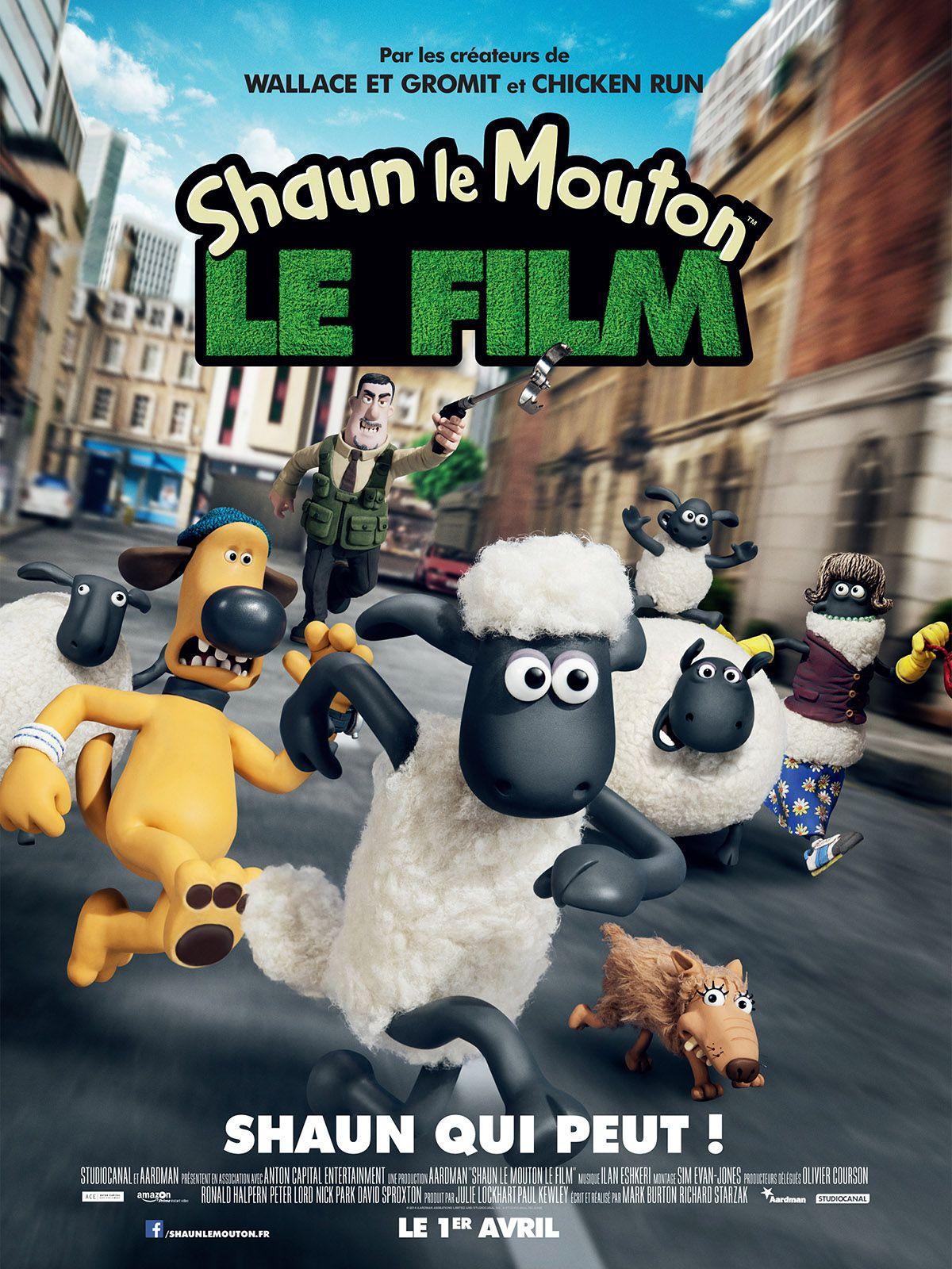 Shaun le Mouton, le film - Long-métrage d'animation (2015)