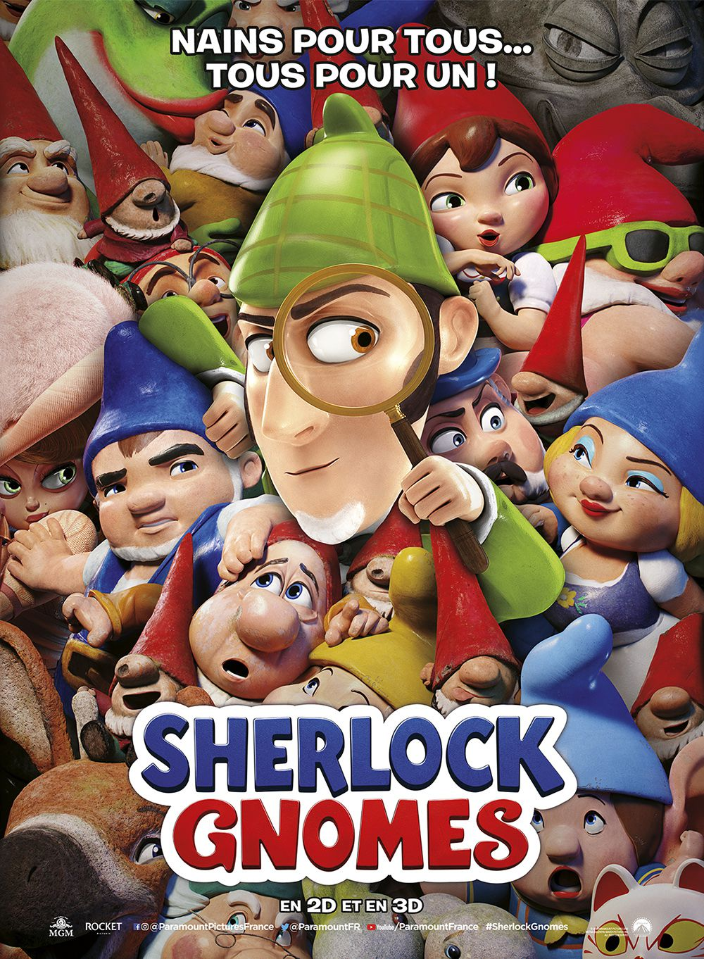 Sherlock Gnomes - Long-métrage d'animation (2018)