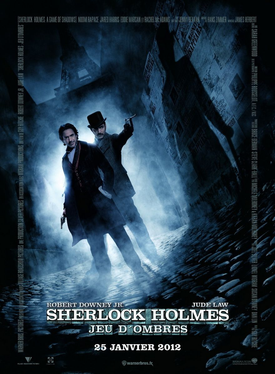 Sherlock Holmes : Jeu d'ombres - Film (2011)