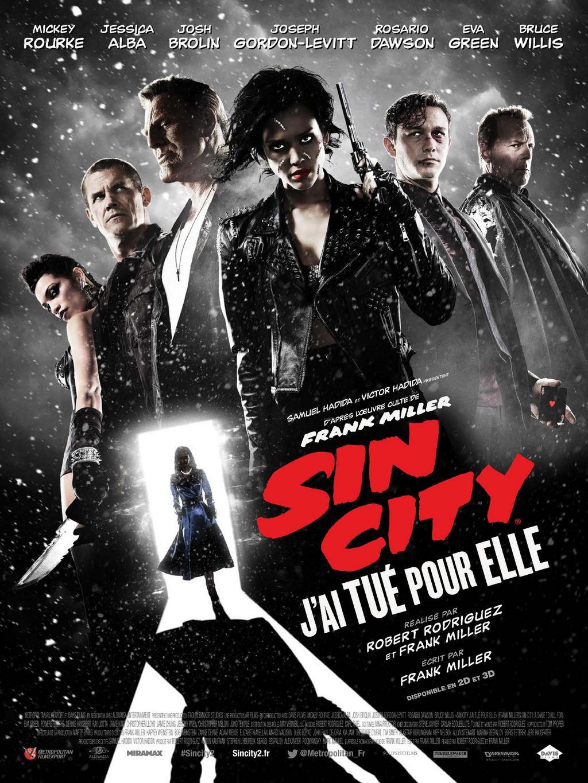 Sin City : J'ai tué pour elle - Film (2014)