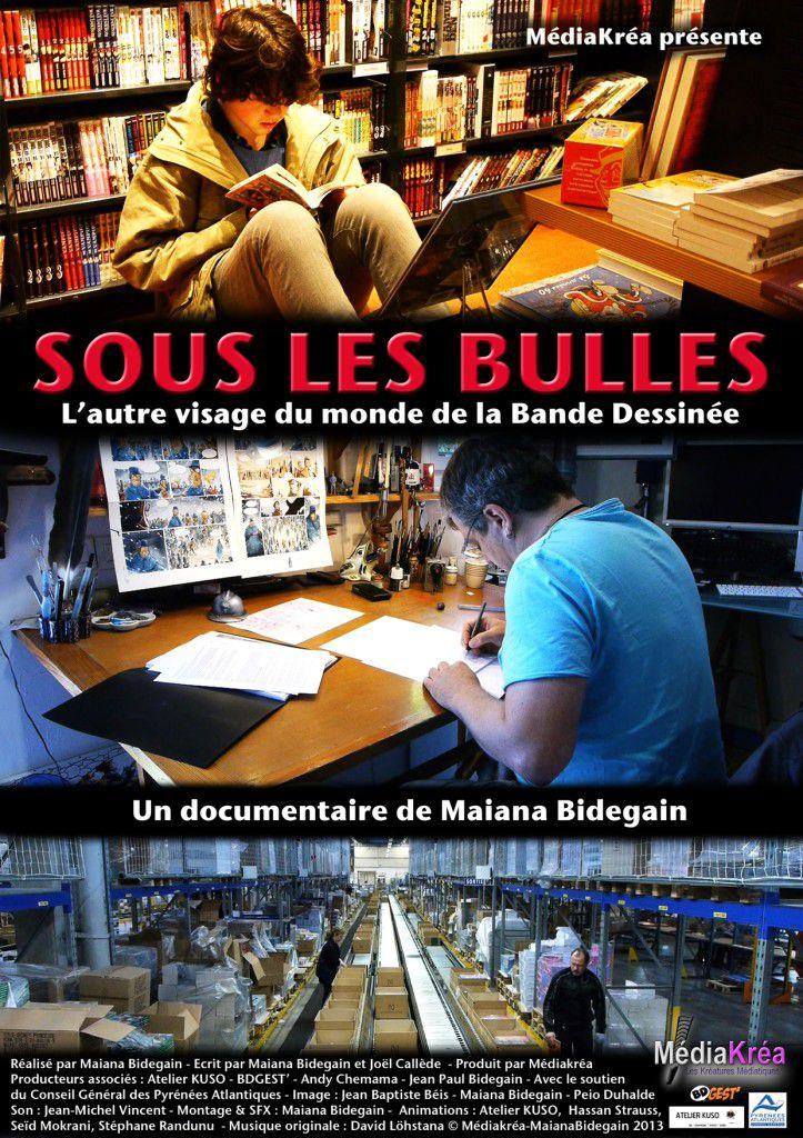 Sous les bulles - Documentaire (2013)