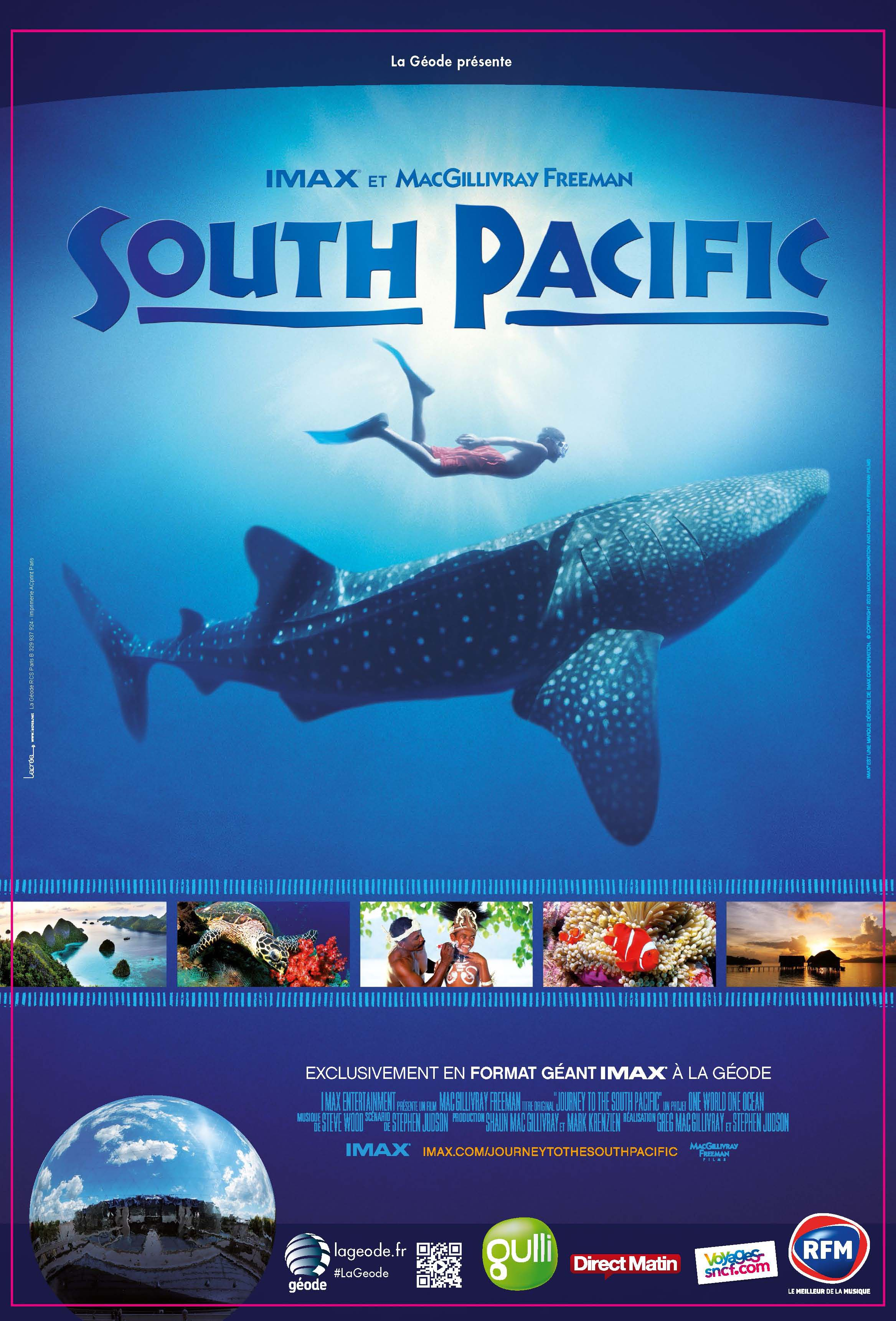 South Pacific - Documentaire (2014)