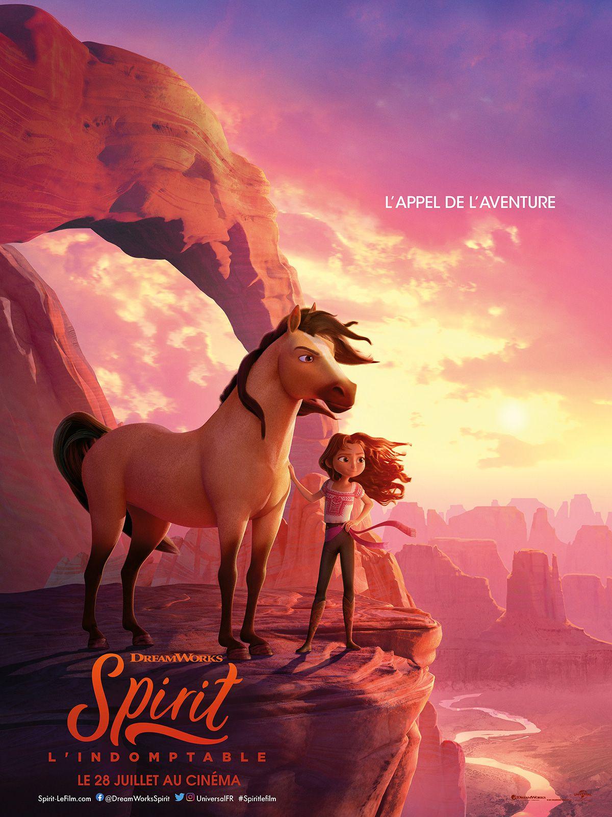 Spirit : L'Indomptable - Long-métrage d'animation (2021)