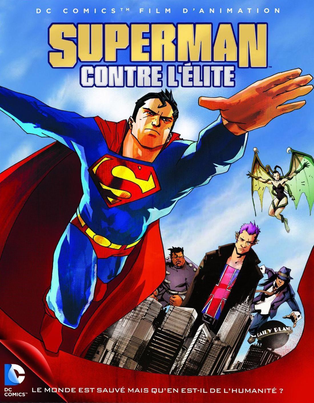 Superman contre l'Élite - Long-métrage d'animation (2012)
