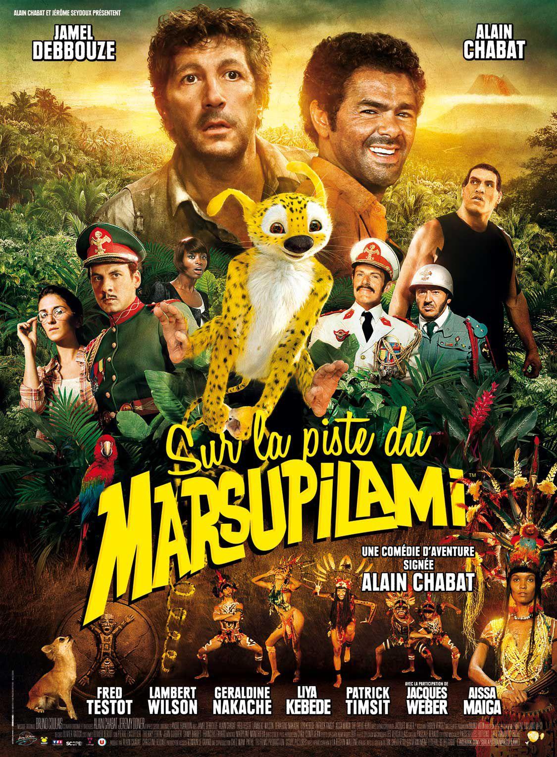 Sur la piste du Marsupilami - Film (2012)