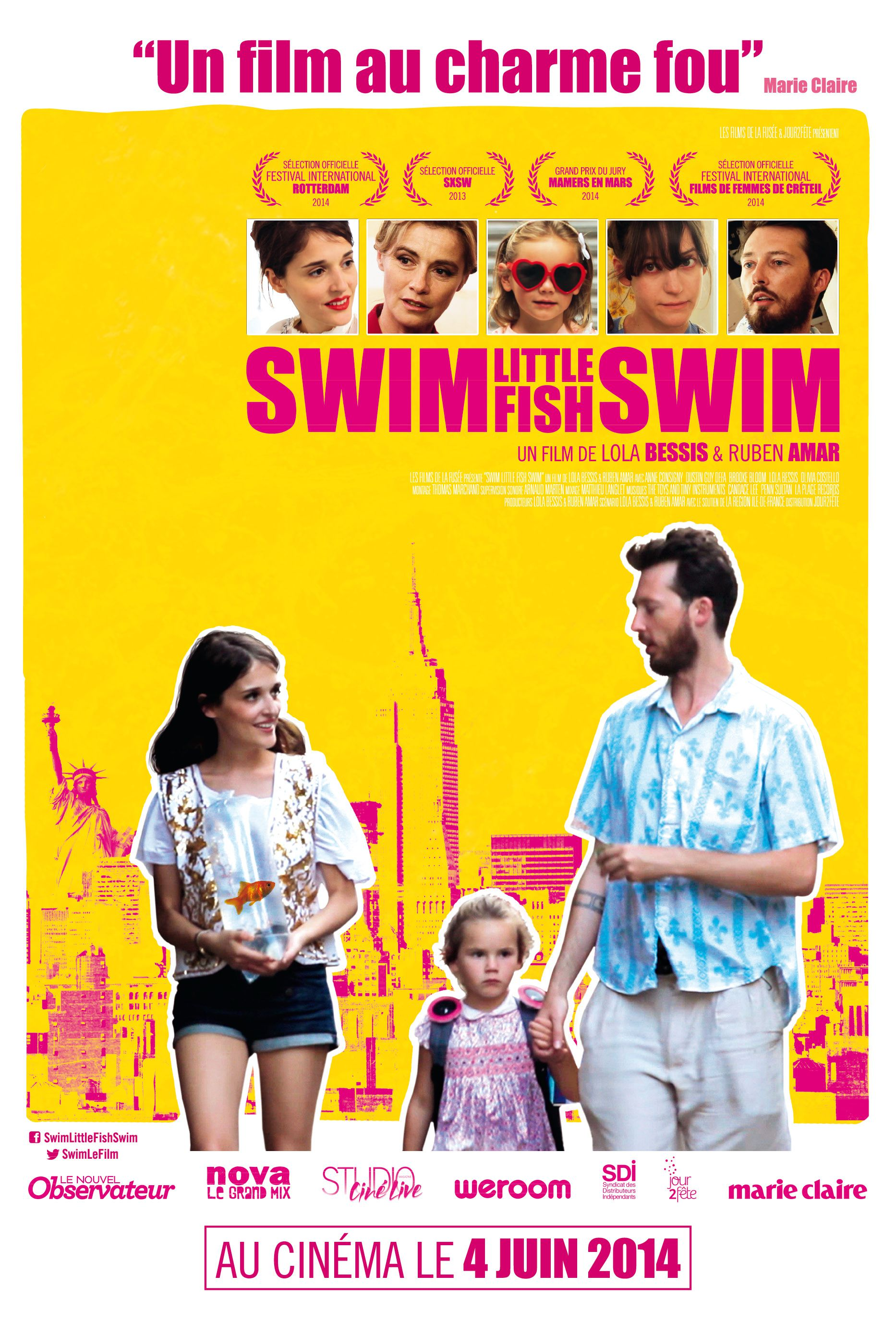 Swim Little Fish Swim - Film (2014)