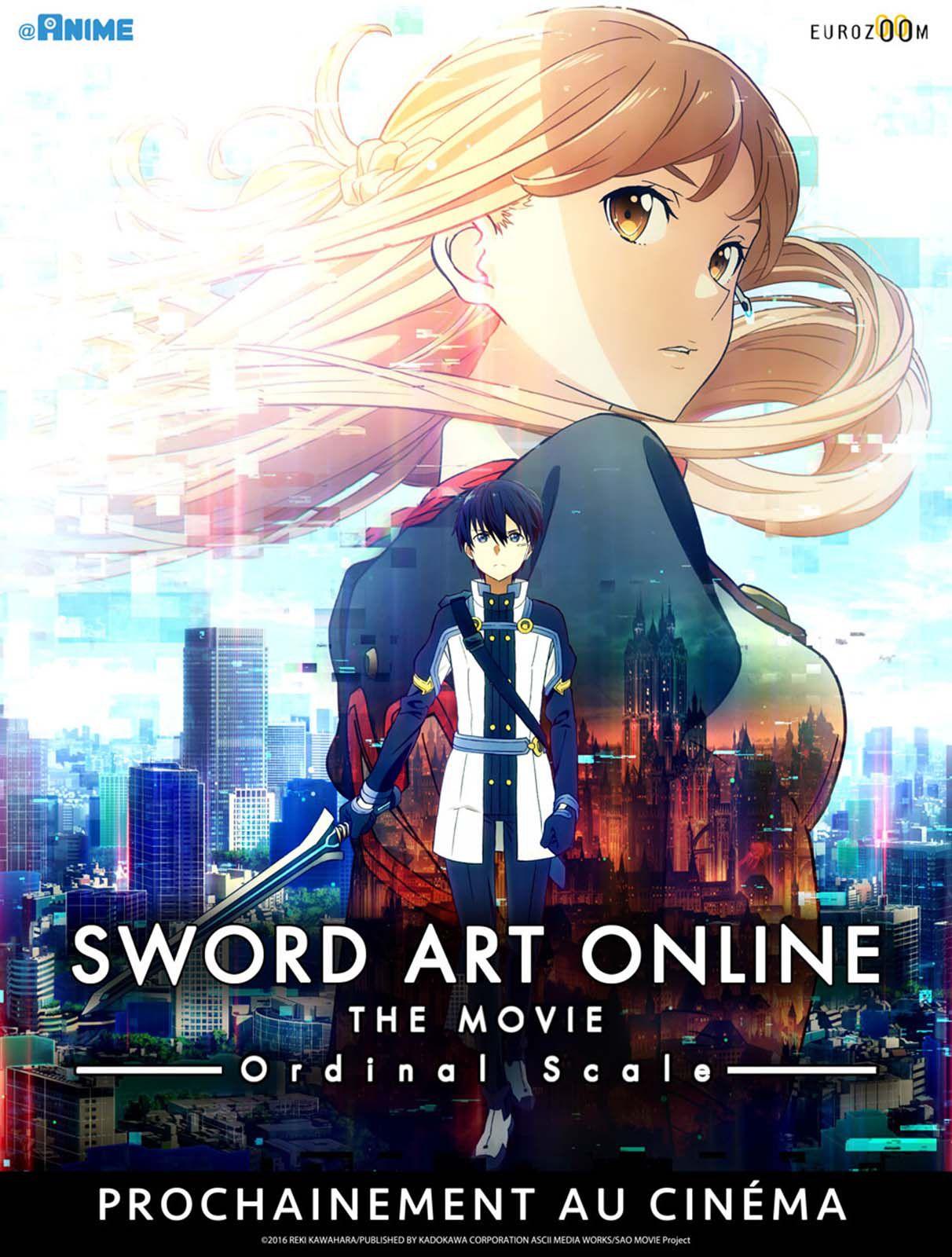 Sword Art Online Movie : Ordinal Scale - Long-métrage d'animation (2017)