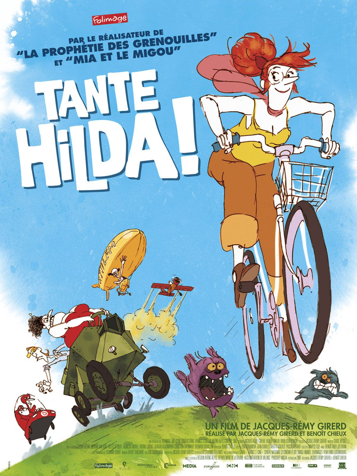 Tante Hilda ! - Long-métrage d'animation (2014)