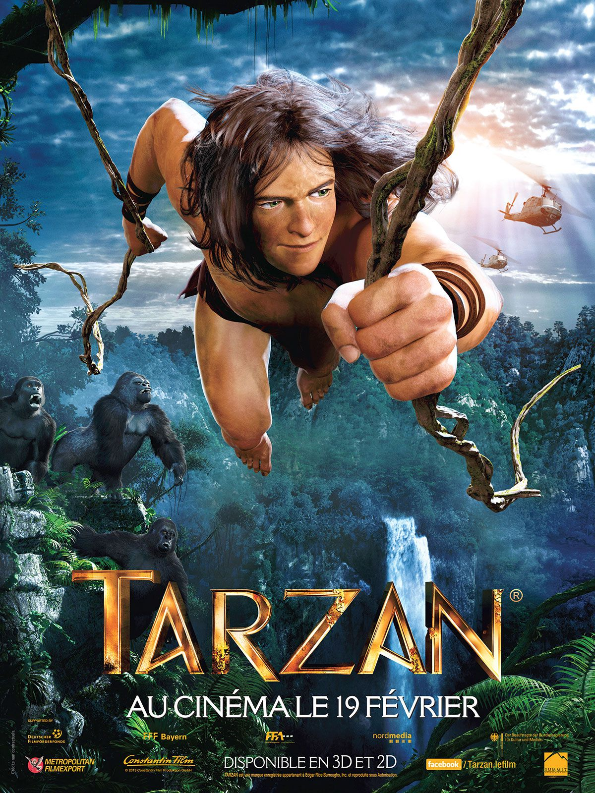 Tarzan - Long-métrage d'animation (2013)