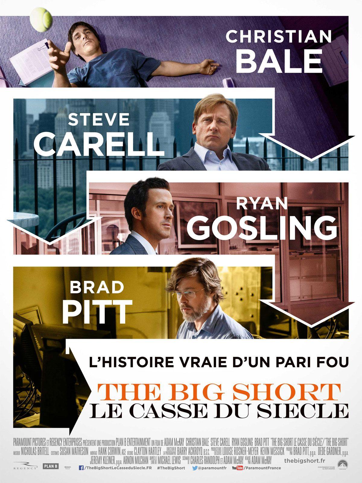 The Big Short : Le Casse du siècle - Film (2015)