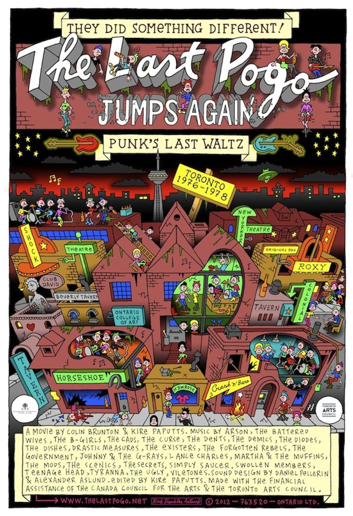 The Last Pogo Jumps Again - Documentaire (2013)