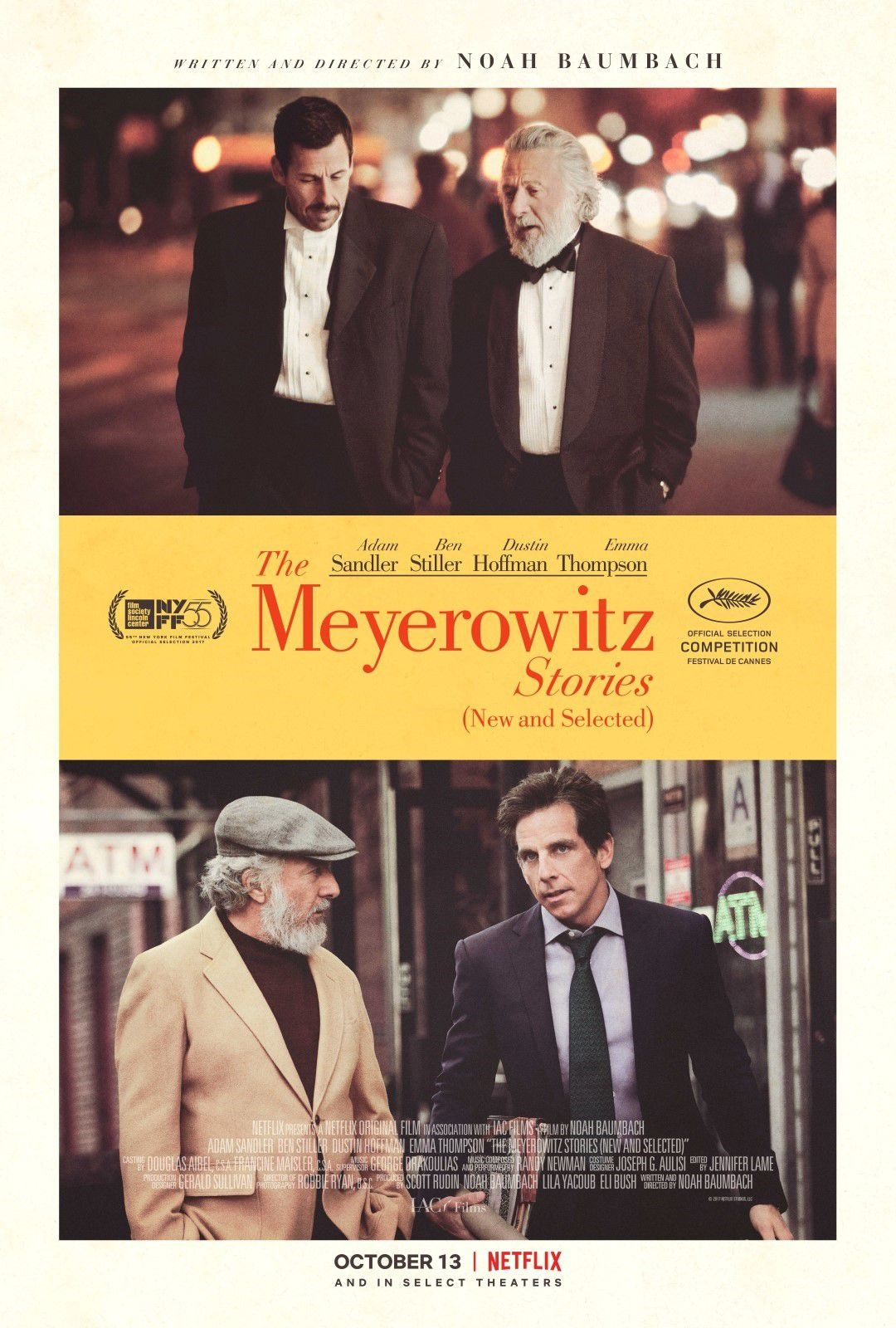 The Meyerowitz Stories (New and Selected) - Film (2017)