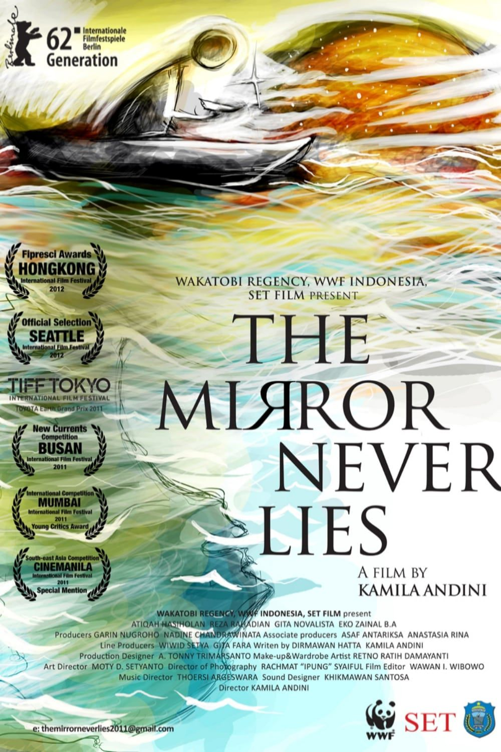 The Mirror Never Lies - Film (2011)