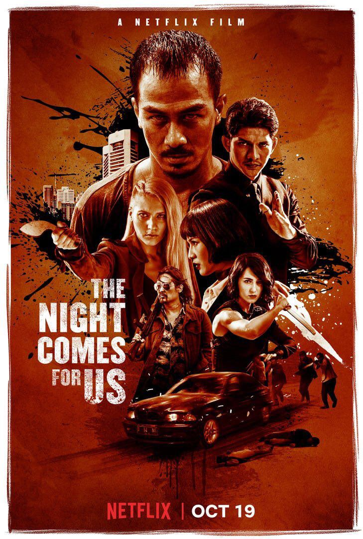 The Night Comes for Us - Film (2018)