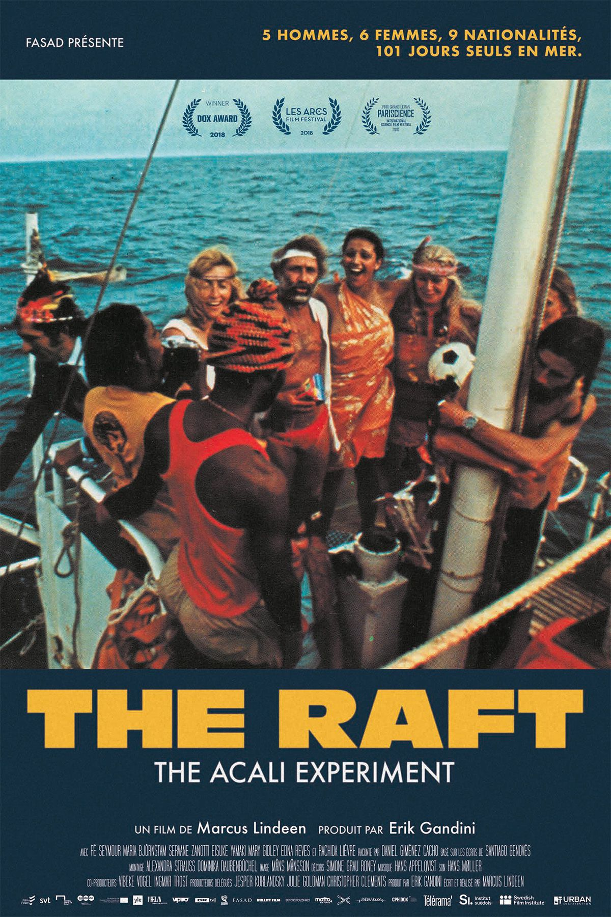 The Raft - Documentaire (2019)