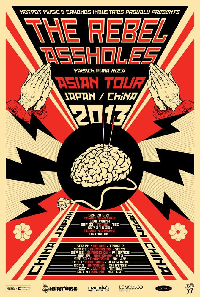 The Rebel Assholes : Asian Tour Movie - Documentaire (2015)